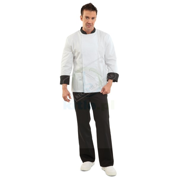 Bluza kucharska zapinana na napy