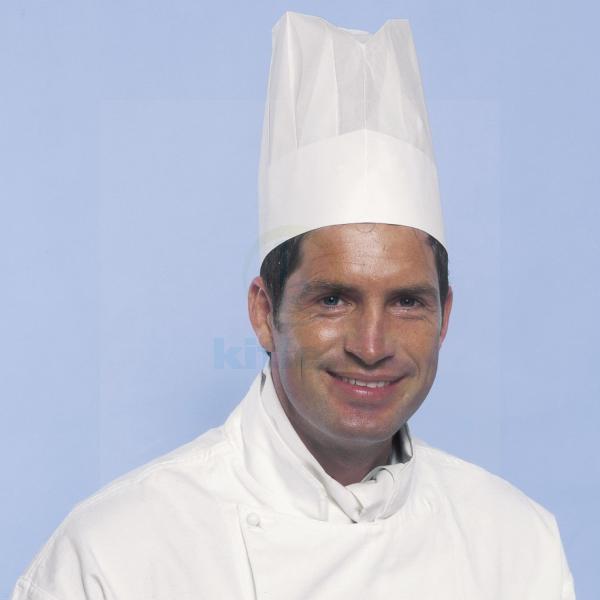 Czapka jednorazowa papierowa Chef's Uniwersal - 10 szt.